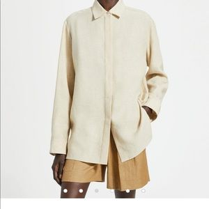 Theory Pure Linen Menswear Shirt
